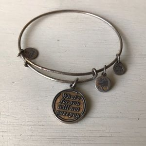 "Alex and Ani ""What's for you will not pass you"""